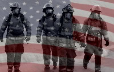 9 11 firefighters flag