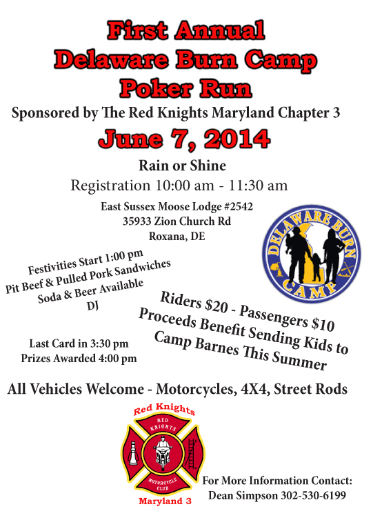 MD 3 Poker Run Flyer picture